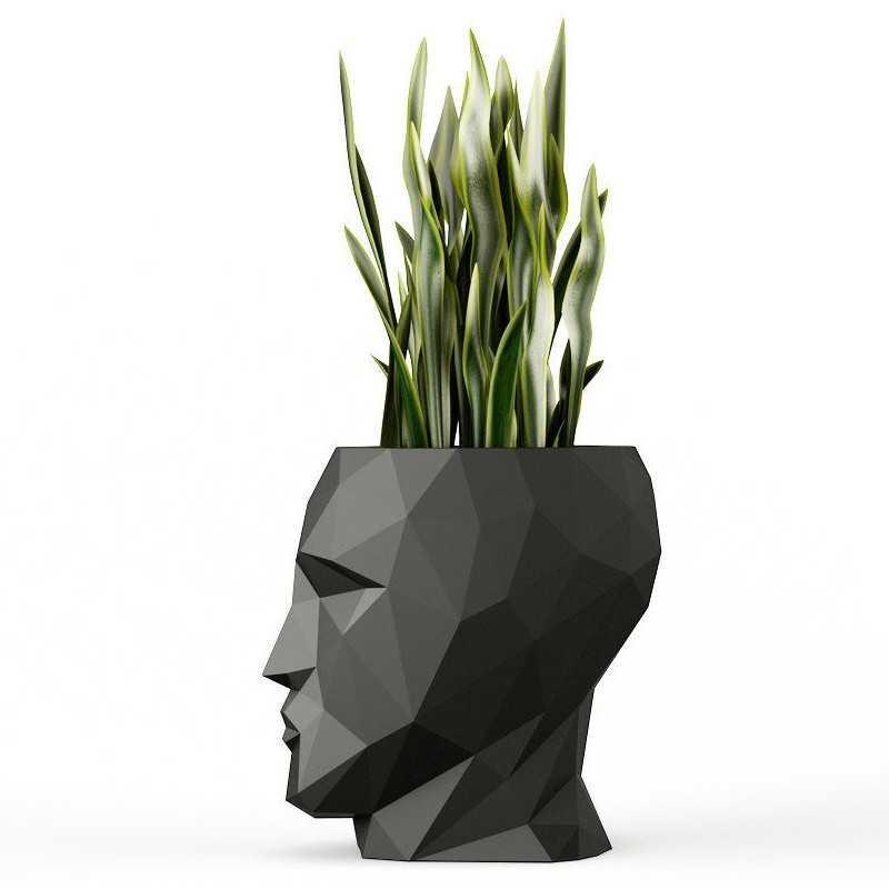 Pots de fleur Design Adam Finition Mate