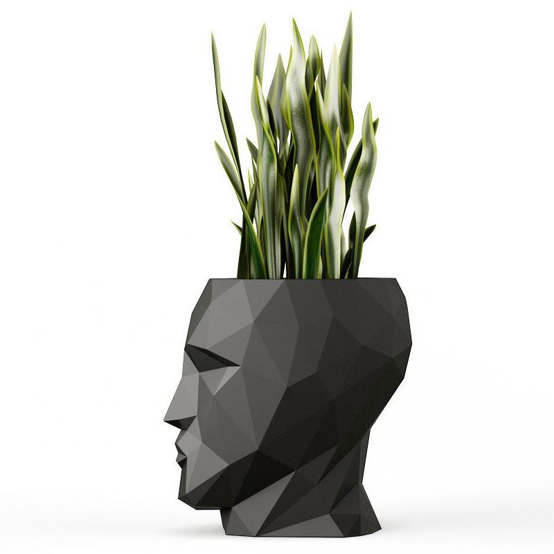 Pots De Fleur Design Adam Finition Mate Barazzi