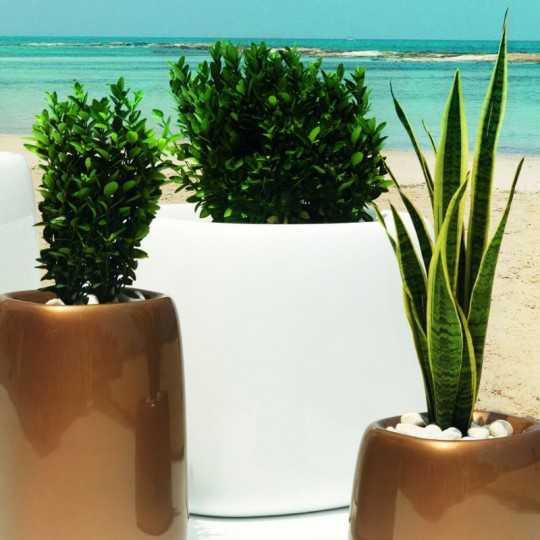 Pot Design Rond Organic Finition mate