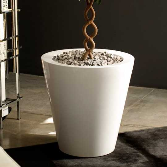 Vondom CONE Pot with Lacquered Finish