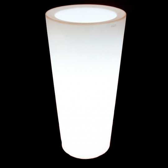 Vondom HIGH CONE Pot with White Led Light