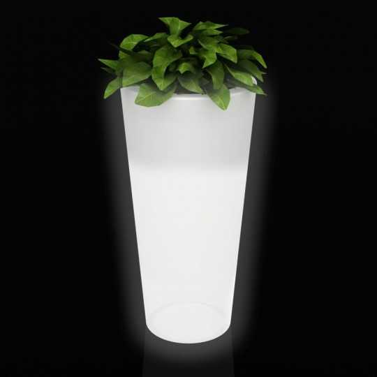 Vondom HIGH CONE Conical Flower Pot with RGB LED Light