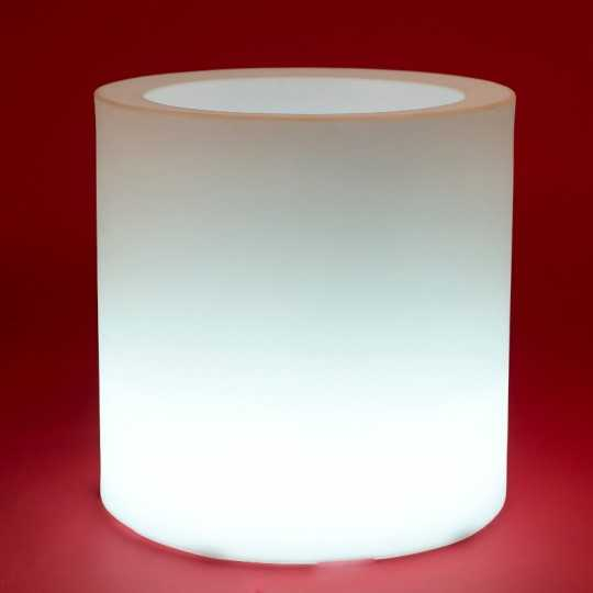 Vondom CYLINDER Pot with White LED Light