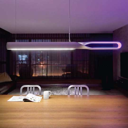 Infinito - Suspension LED - Silver par QisDesign