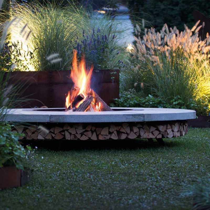 Ercole Concrete 250 - Outdoor Fire Pit Concrete - AK47