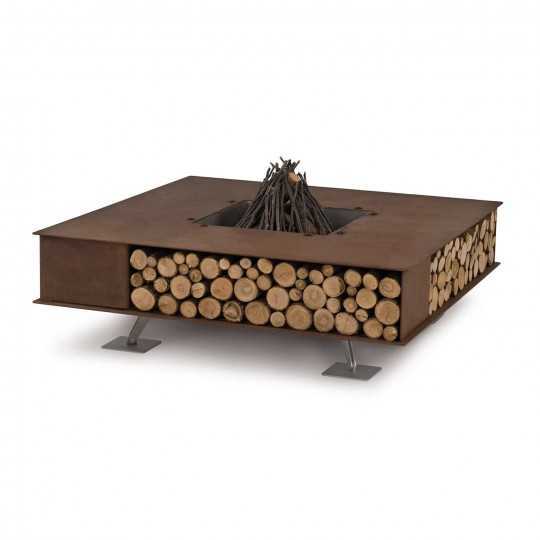 Toast - Square Steel Fire Pit - AK47