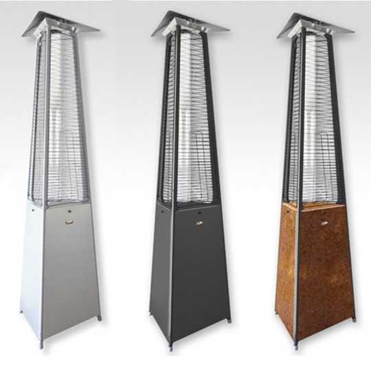 Falo Evo Pyramid Gas Outdoor Heater by Italkero
