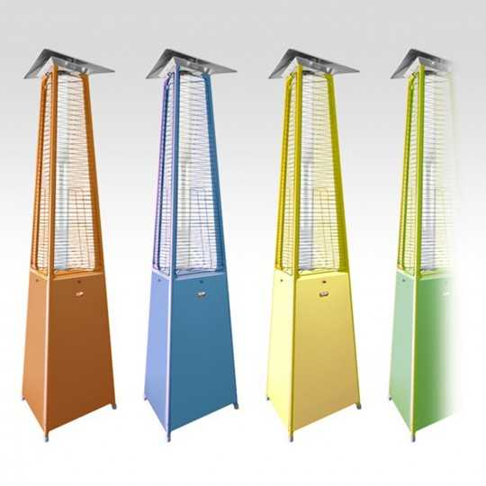 Falo Evo Color - Pyramid Gas Outdoor Heater - Italkero