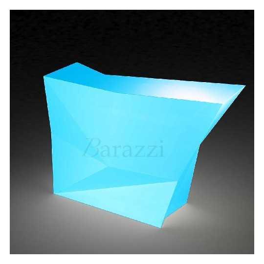 Faz Bar LED Light Side Bar by Vondom. Color illustration