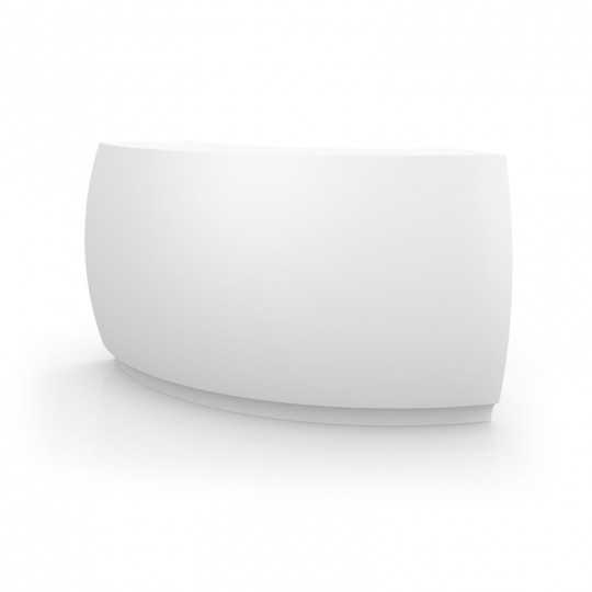 Fiesta Curved Bar Counter with Lacquered Finish by Vondom (image illustration)