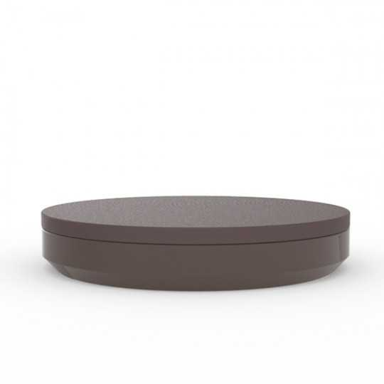 Vela Daybed with Lacquered Finish (shown here in bronze) Ø210cm by Vondom
