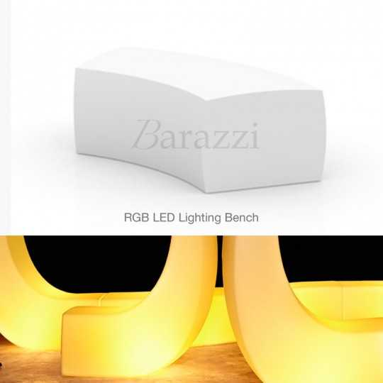 AND Banco RGB by Vondom - LED Lighting Contemporary Design Bench