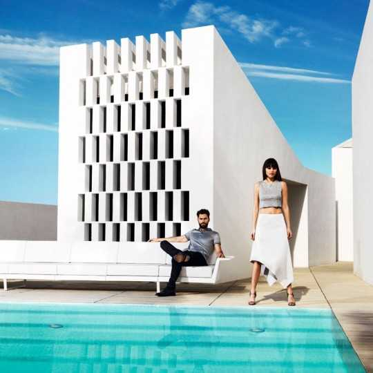 DELTA A Lounge Outdoor Sofa by Vondom (previously named FLAT Sofa)