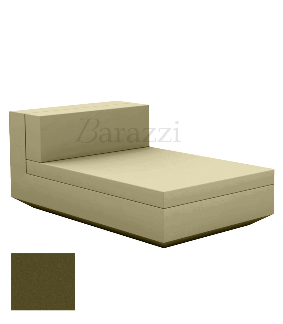 Outdoor Sectional Matt Couch Central Vela Sofa By Vondom