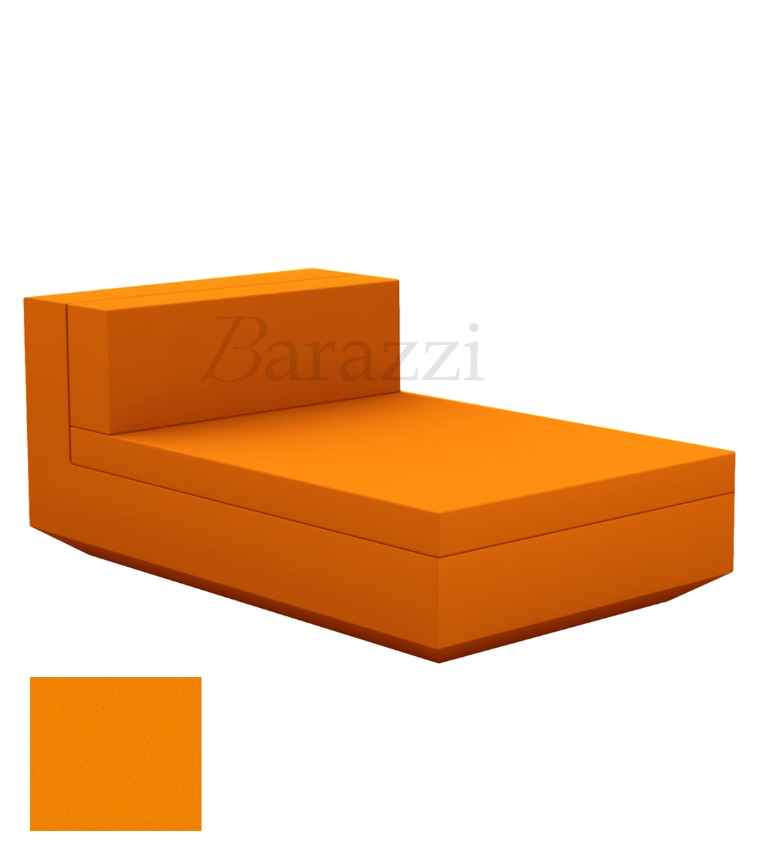 Outdoor Sectional Matt Couch Central Vela Sofa by Vondom