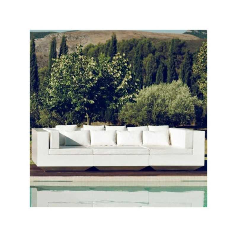 Vondom Lacquered Vela Outdoor by Sofa Armless and Chaiselongue v8Nnwm0Oy