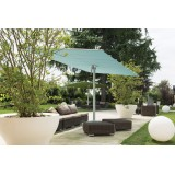 Flexy Twin Sun Shade System with Two Canopies and Gutter with zip (sold separately)