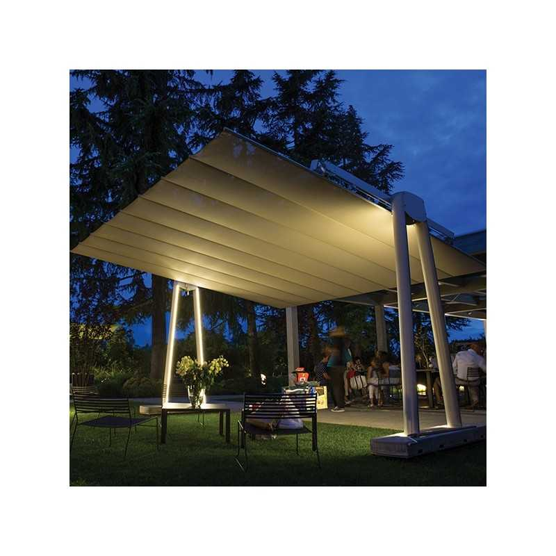 Flexy Xl Giant Free Standing And Retractable Awning Umbrella