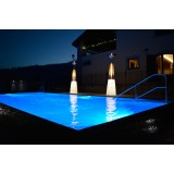 Dolce Vita Gas Outdoor Heater with lighting base (optional)