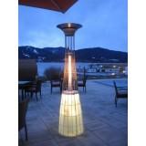 Dolce Vita Outdoor Heater (optional LED lighting kit) perfect on a Bar Restaurant Terrace
