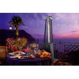 Falo Evo Black Color Outdoor Heater to provide warmth to your guests