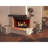 Focus 60 Gas Fire Log can be inserted in a useless Wood Fireplace. Log set optional