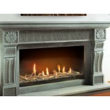 Insert Focus 130 Gas Fireplace for Indoor use. Log set sold separately