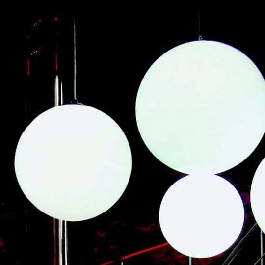 GLOBO 60 Hanging Spherical Pendant Lamp 60 cm Diameter for Indoor or Outdoor Use (with mixed available sizes)