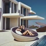 ULM Daybed - Polyethylene Round Garden Bed - Vondom
