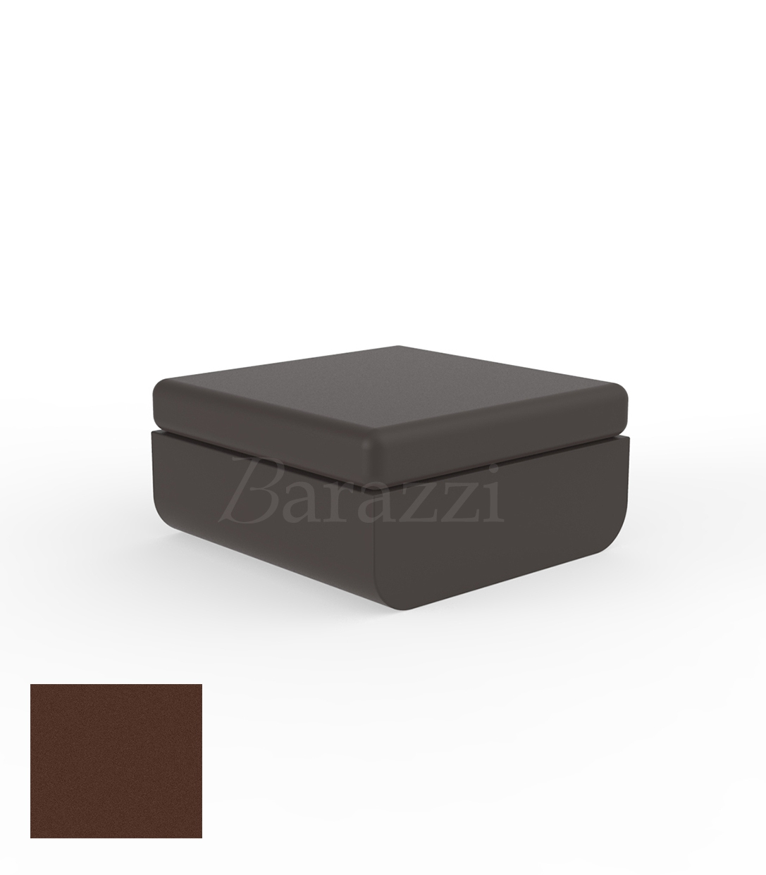 ulm pouf square outdoor matt polyethylene design ottoman. Black Bedroom Furniture Sets. Home Design Ideas