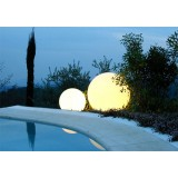 Outdoor GLOBO 70 Lighting Round Ball Lamp ideal at a Hotel Poolside