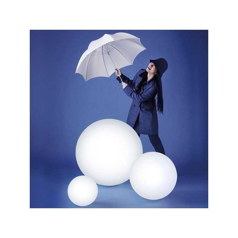 GLOBO 70 Large Luminous Ball Floor Lamp 70 cm Diameter Timeless Design