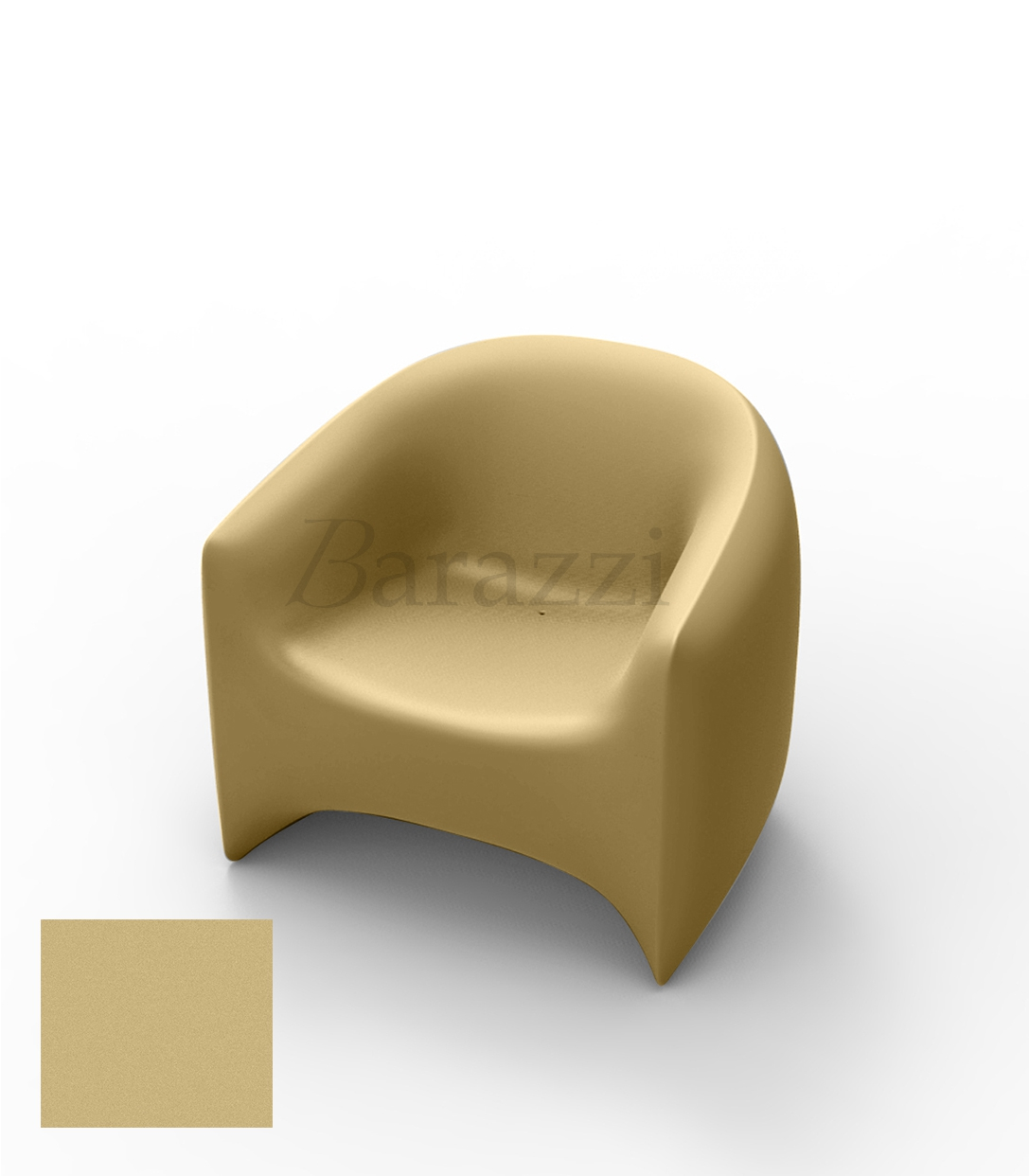 Blow Armchair Outdoor Garden And Terrace Lounge Chair With