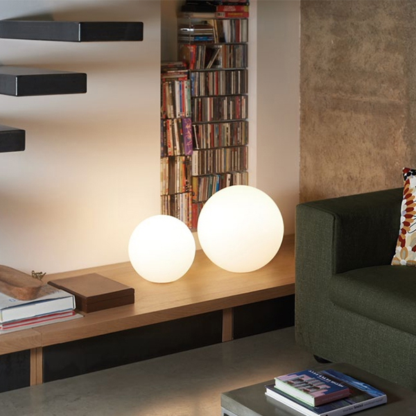 Globo 50 Wireless Ball Table Lamp Cm, Wireless Floor Lamp