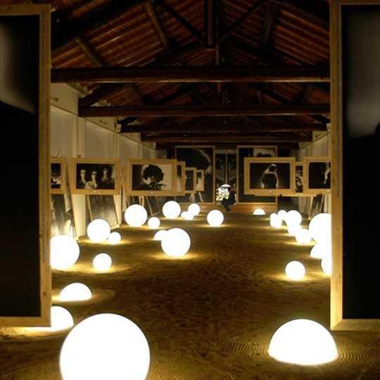 GLOBO 60 WIRELESS Lighting Bubble Lamp 60 cm Diameter with Battery RGB LED Module