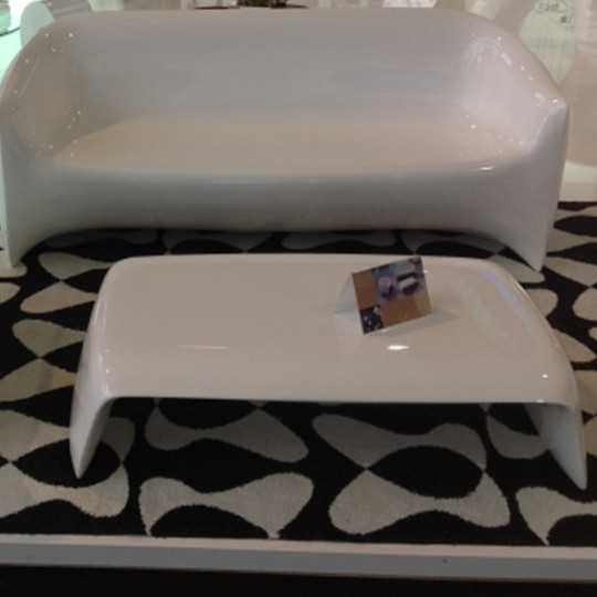 BLOW Coffee Table Lacquered by Vondom