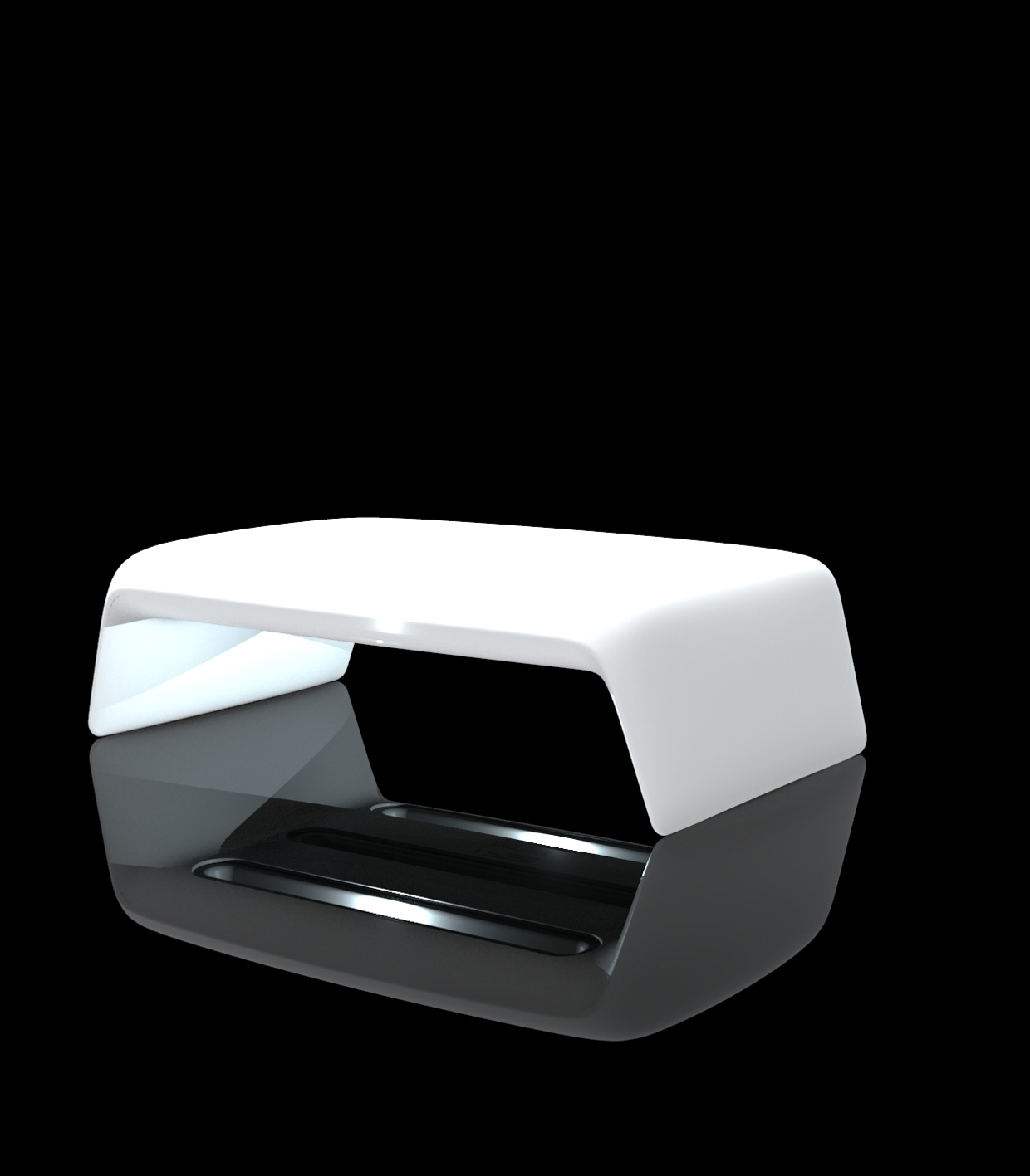 Blow Coffee Table Rgb Led Light Outdoor Table With