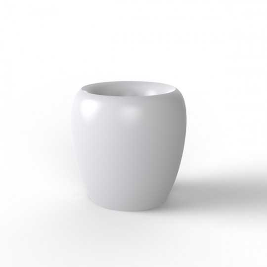 BLOW Pot 40 Lacquered - Outdoor Polyethylene Planter with Lacquered Finish
