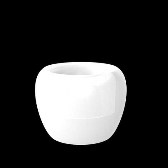 BLOW Pot Luz 75 - Giant Design Outdoor Polyethylene Pot with White LED Light