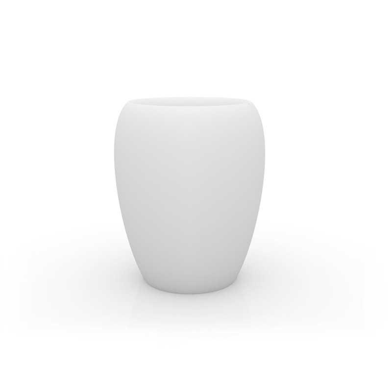 Blow pot 120 xxl outdoor garden polyethylene jar with matt for Pot exterieur xxl