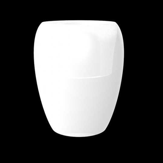 BLOW Pot Luz 120 - Giant Outdoor Polyethylene Pot with White LED Light