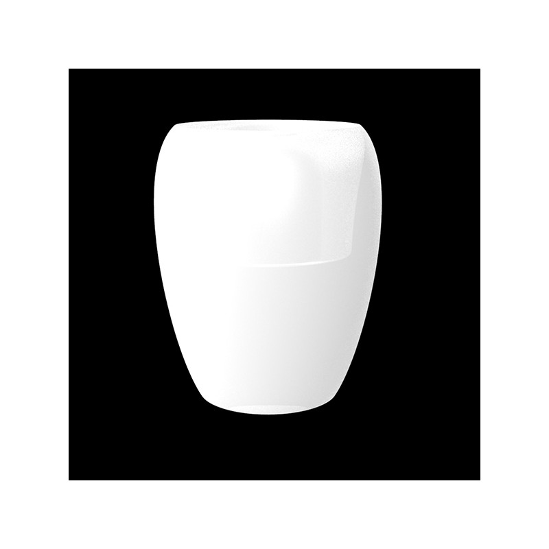 BLOW Pot 120 - Giant Outdoor Polyethylene Pot with White LED Light