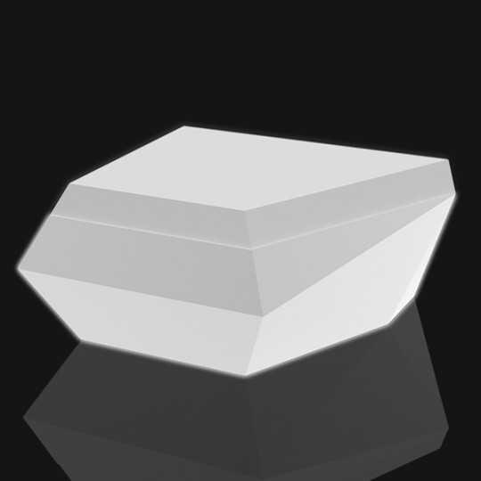 Faz Sofa Chaiselongue Luz White Led Light Seat by Vondom