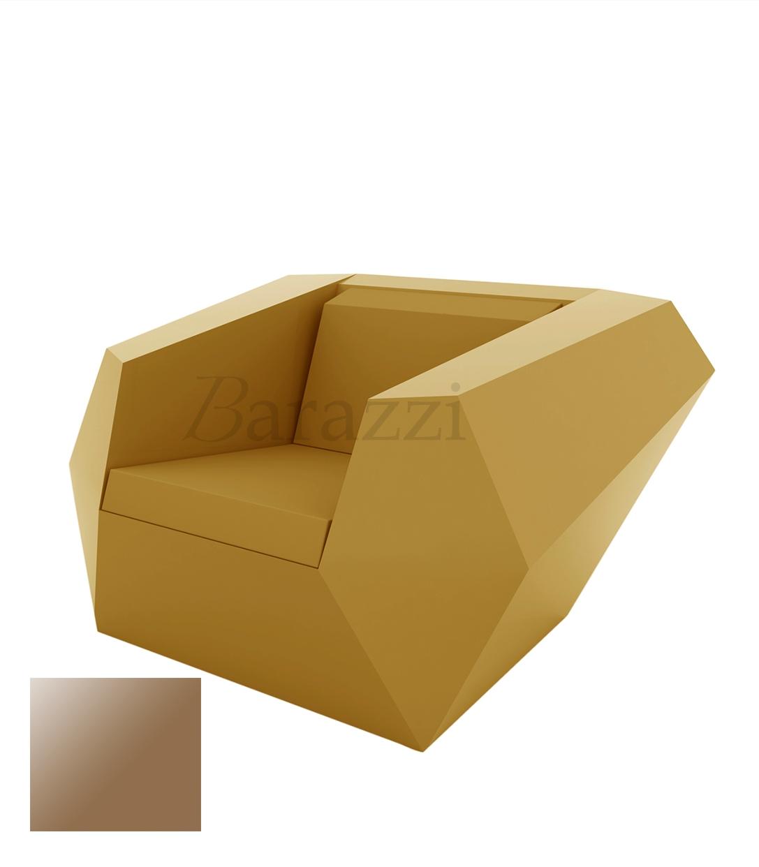 Faz Armchair Lacquered Outdoor Polyethylene Seat Glossy