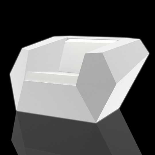 Vondom Faz Armchair LED White