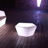Vondom Faz LED White Coffee Table - Bright Furniture