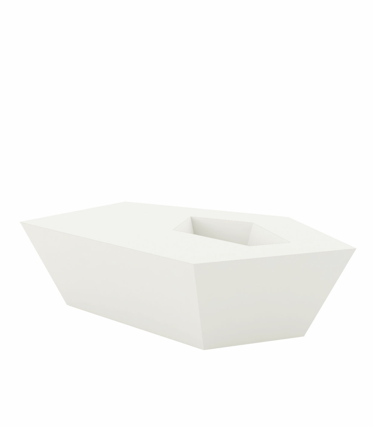 faz coffee table luz outdoor table with white led light glass bucket