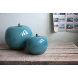 Apple Turquoise Varnish Brilliant Indoor Outdoor by Bull & Stein and Lisa Pappon