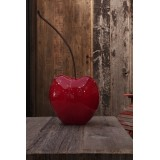 Cherry Red Color Oversized Lisa Pappon Bull and Stein