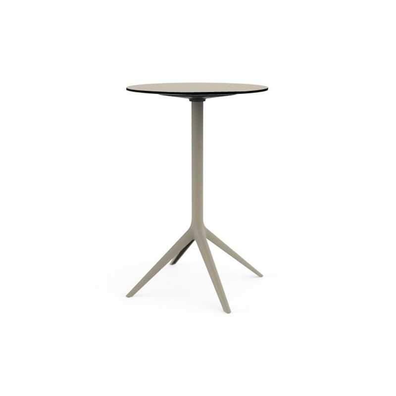 MARI SOL Large Round High Bar Table 4 Legs By Vondom